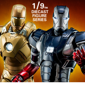 1/9 SCALE IRON MAN 3 FIGURES