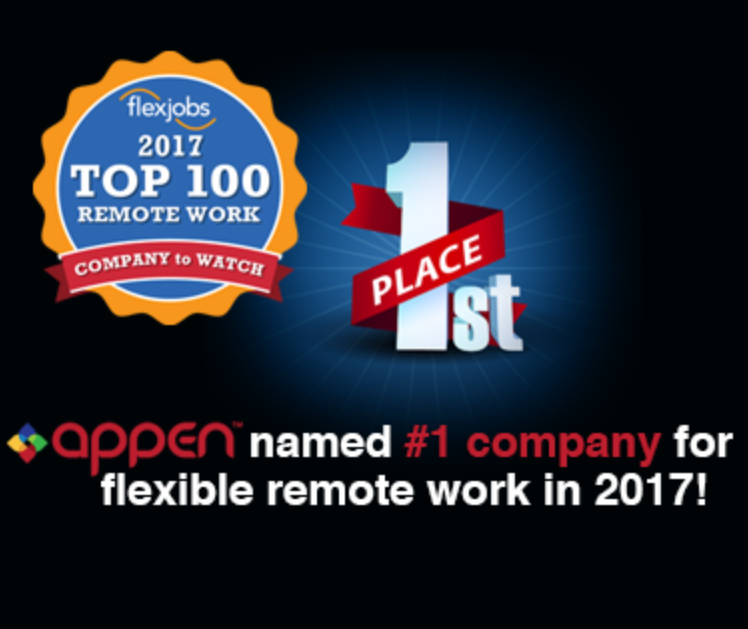 Appen named #1 company!