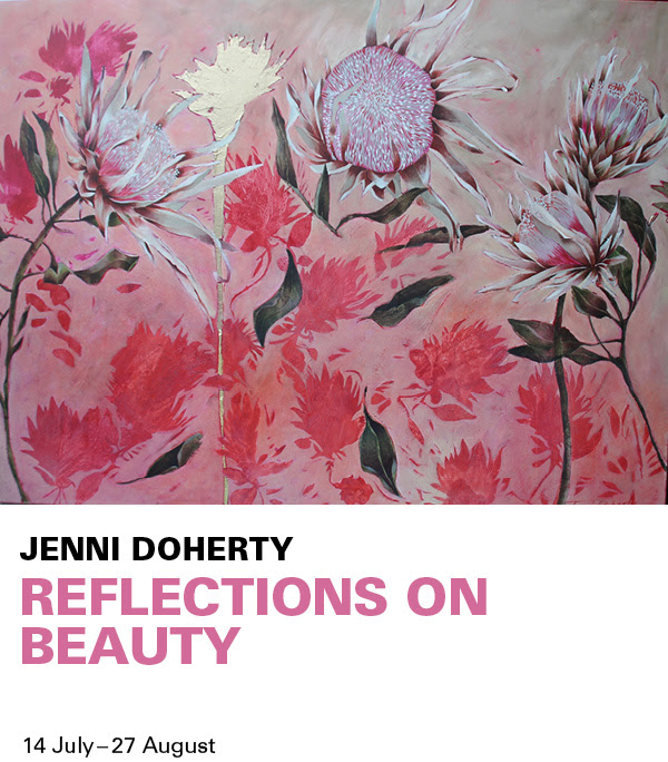 Artwork by Jenni Doherty, Reflections on Beauty.