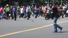Brazen attacks blamed on Islamic State leave 5 gunmen, 2 civilians dead in Jakarta
