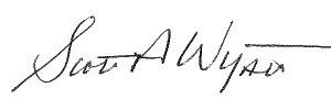 Scott Wyatt Signature