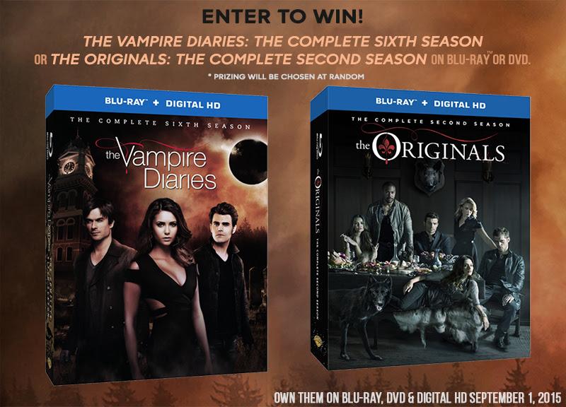 Giveawayv2, CW, Originals, Vampire Diaries, giveaway, vampire, Dvd, television