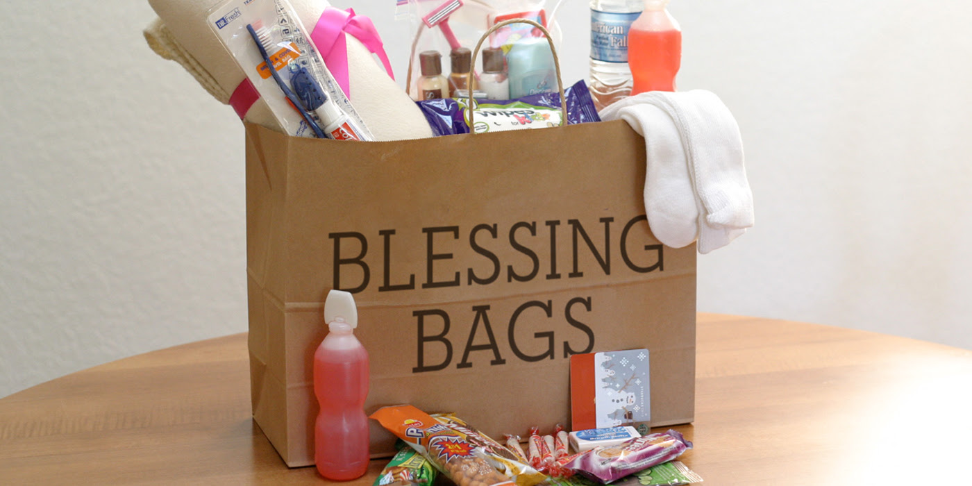 Image result for assemble blessing bags