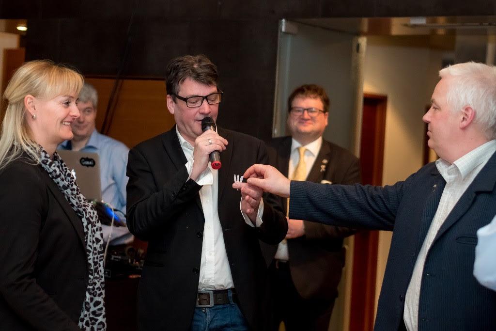 Baldur Hreinsson veislutjóri á þorrablóti 2017