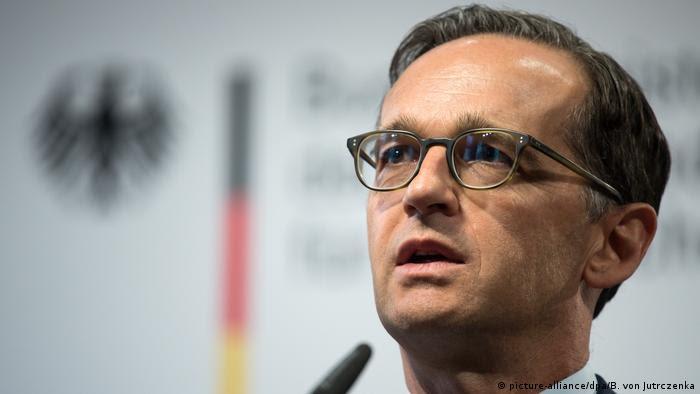 Ministro alemão da Justiça, Heiko Maas