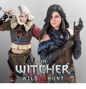 DARK HORSE WITCHER 3: YENNEFER & CIRI 2ND EDITION FIGURES