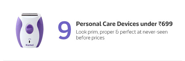 Personal Care Devices under Rs.699
