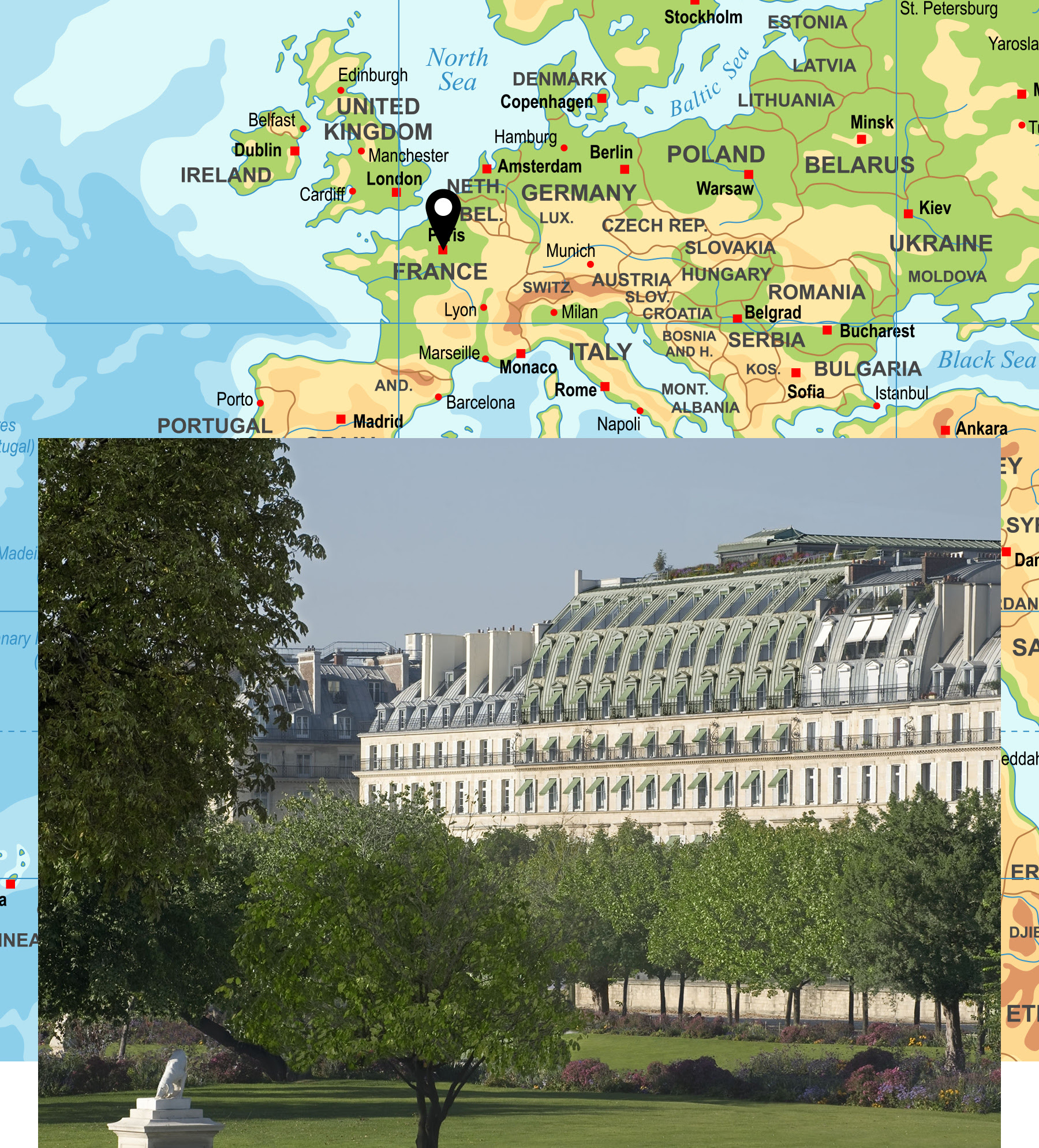 A stay at Le Meurice