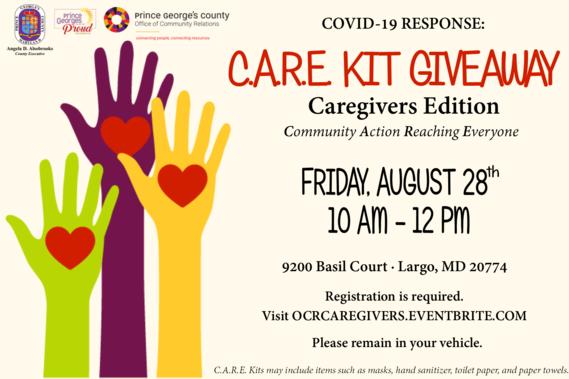 Caregivers CARE Kits