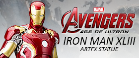 AGE OF ULTRON IRON MAN XLIII ARTFX STATUE