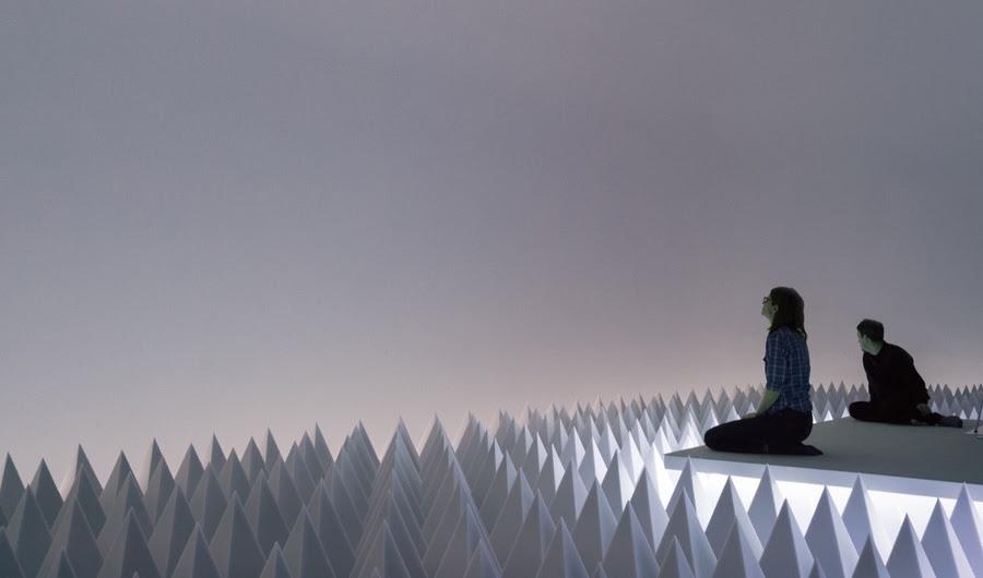 Um quarto escondido no Guggenheim irá transportá-lo em uma Soundless, Sublime Mundial