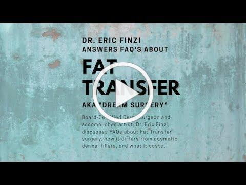 Fat Transfer Surgery - FAQs Answered by Dr. Eric Finzi, Dermasurgeon
