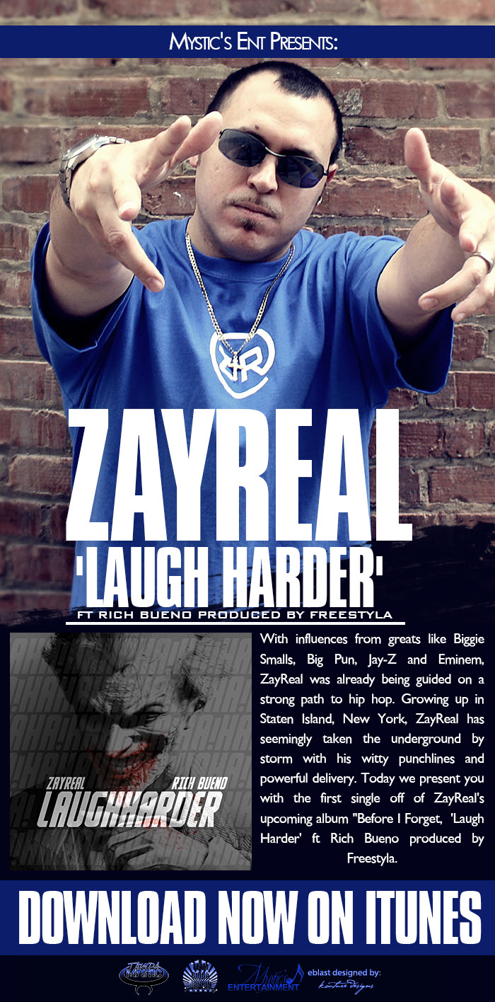 Mystic -Zayreal  -Laugh Harder BLAST