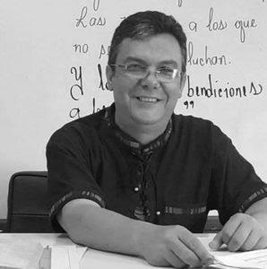 Mario Argeñal, maestro del Instituto Departamental de oriente (IDO)