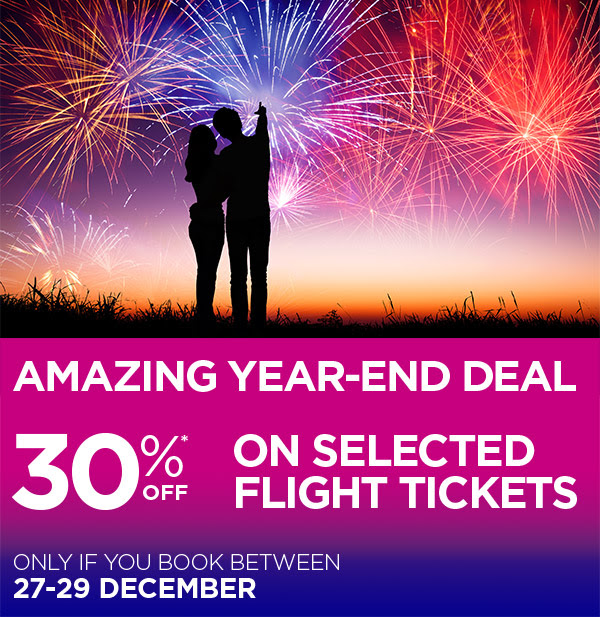 Only if you book between 27 and 29 December!