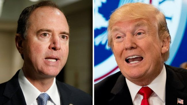 Trump Slams 'Little' Adam Schiff as 'one of the biggest liars' in Washington