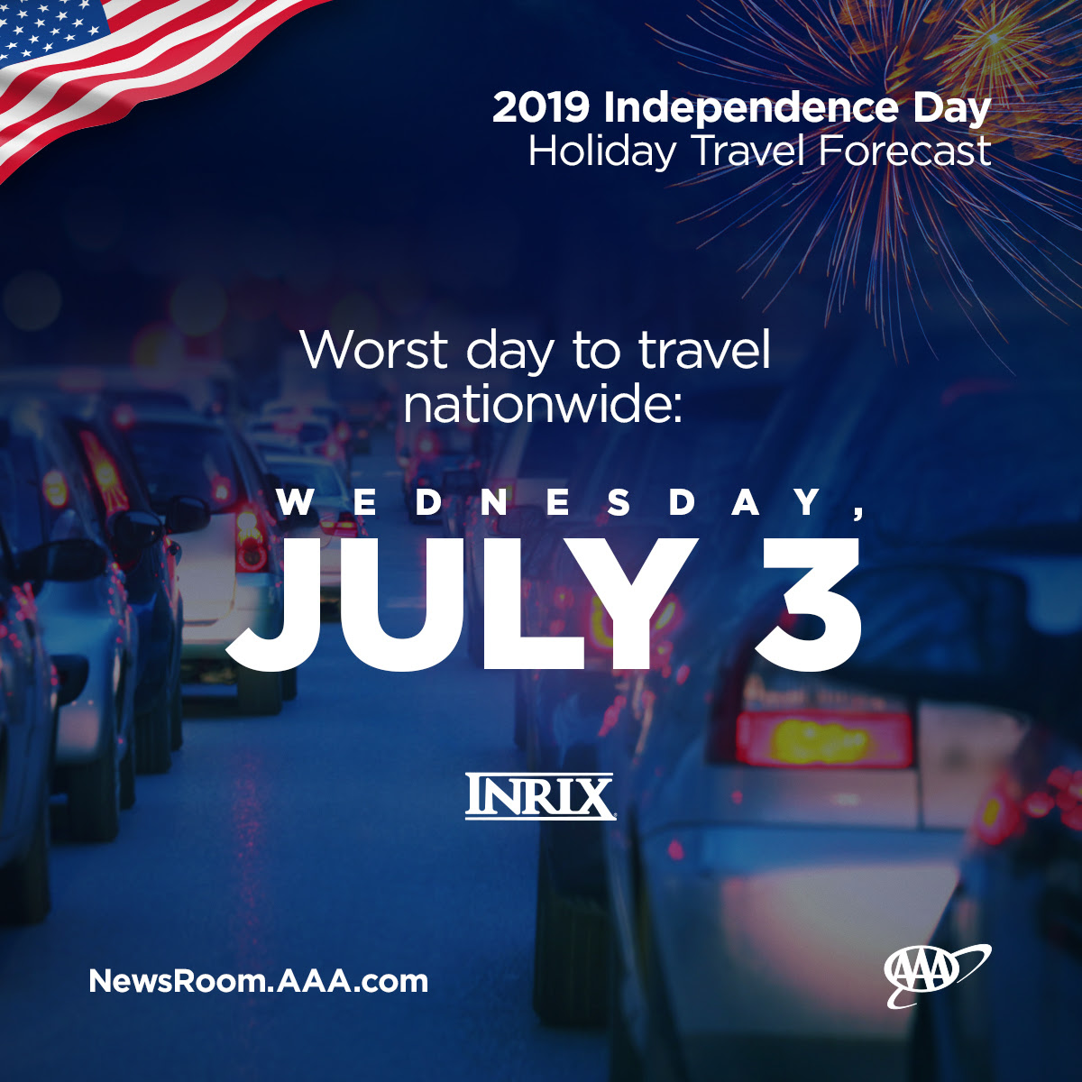 Record-Breaking 2.6 Million Floridians to Travel this Independence Day
