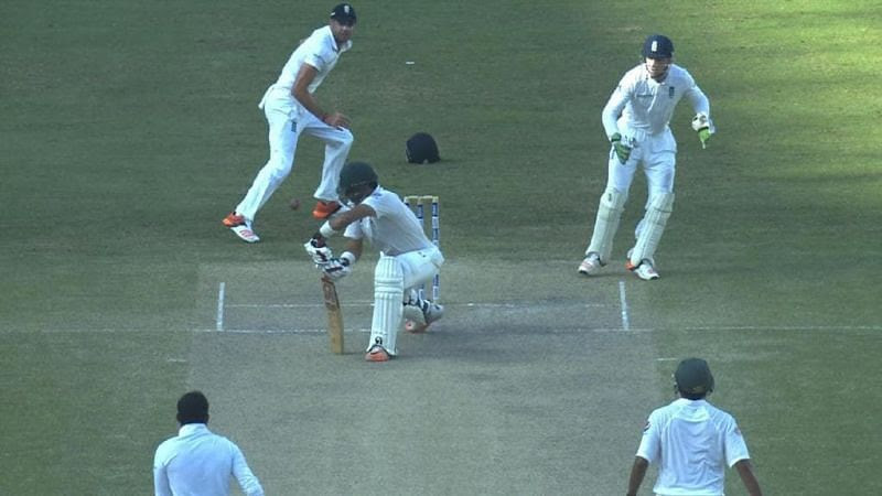 Misbah-ul-Haq fooled the England side with his unique stroke selection.
