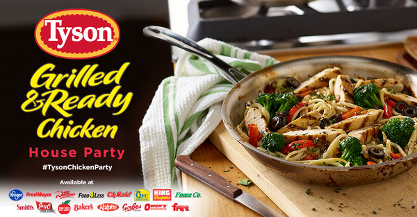 Tyson® Grilled & Ready® Chicken House Party House Party