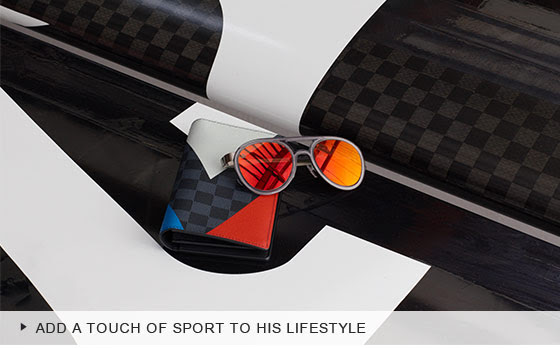 Add A Touch of Sport To His Lifestyle