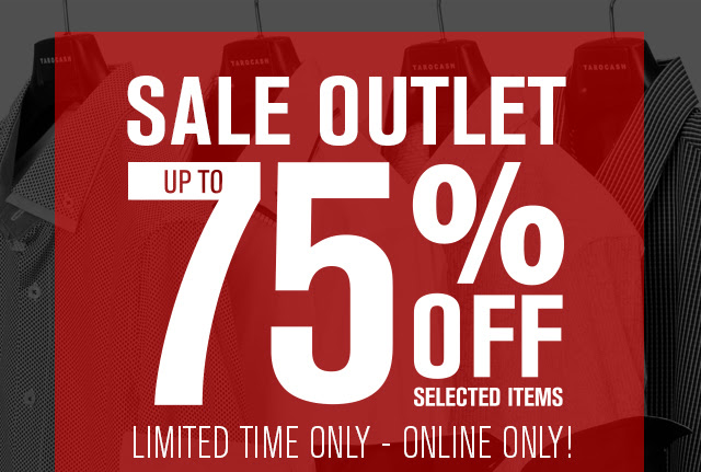 Save Up to 75% OFF Outlet Of Selected Items + Free Shipping On Orders 75$ Or More at Tarocash.com.au