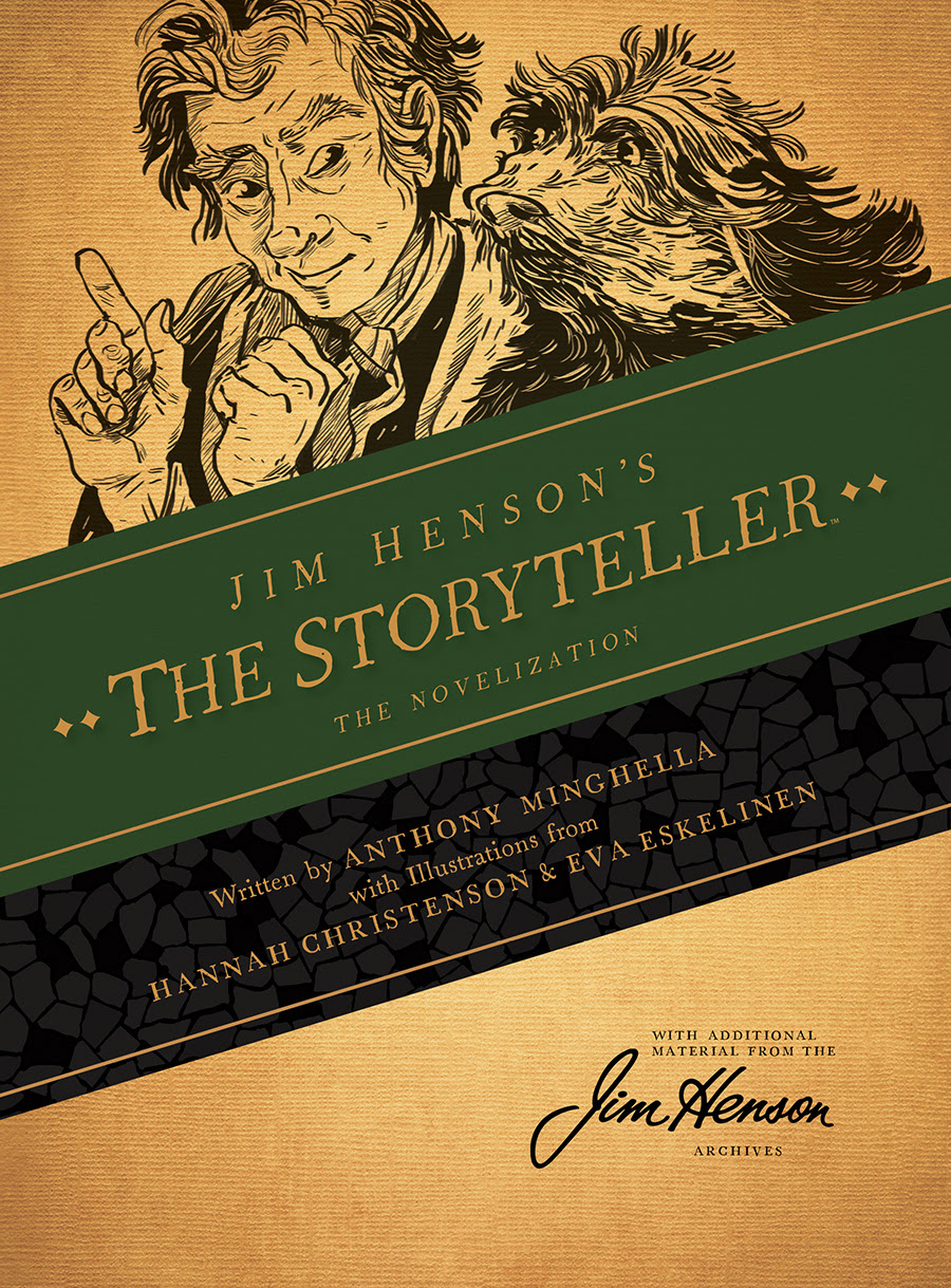 JIM HENSON'S THE STORYTELLER: THE NOVELIZATION HC Cover by Hannah Christenson