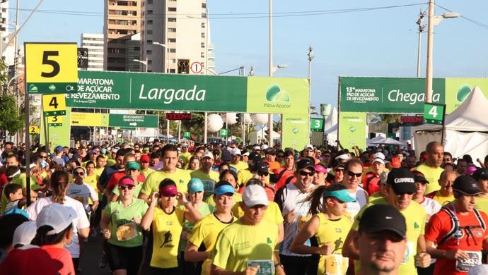 Maratona de revezamento Pão de Açúcar (Foto: LC Moreira/Divulgação)