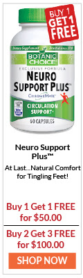 Neuro Support Plus At Last...Natural Comfort for Tingling Feet!