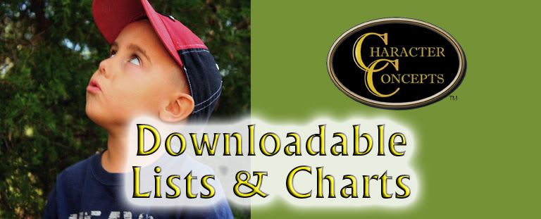 downloadable lists and charts