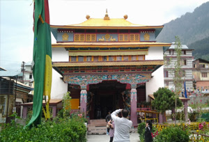 A Buddhist Temple in Manali