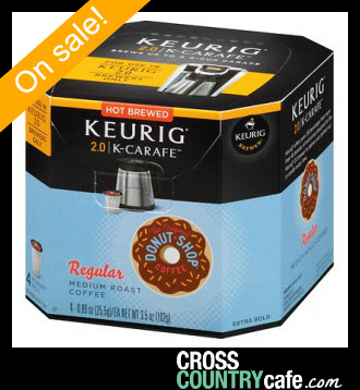 Donut Shop K-carafe Keurig coffee