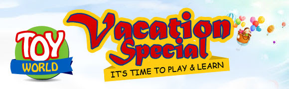 Vacation special its time to play & learn