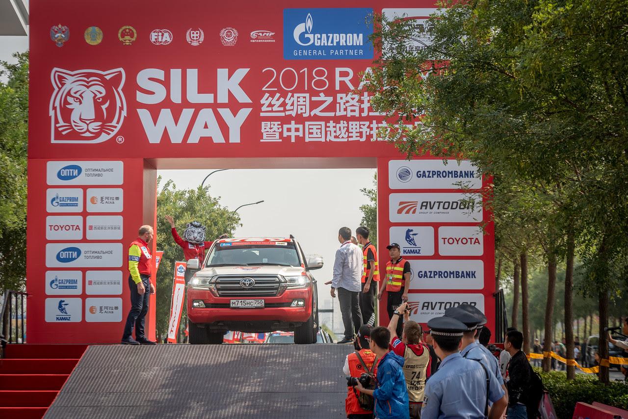 Китайская часть ралли - рейда Шелковый путь 2018  вышла на старт