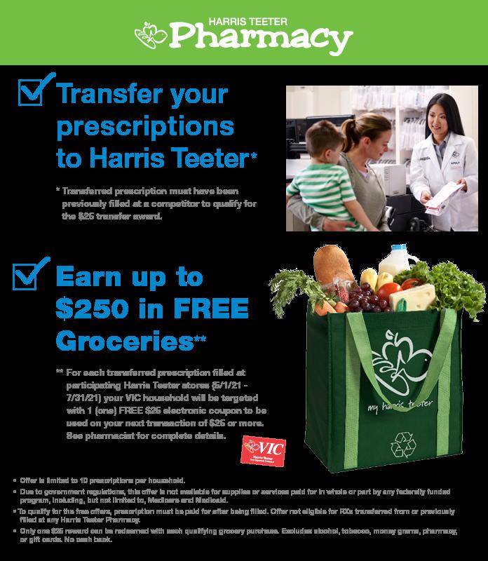 FREE Groceries at Harris Teeter