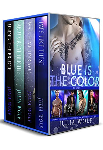 Cover for 'Blue is the Color (Rock Star Romance Box Set)'