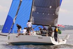 J/111 sailing New York YC Annual Regatta