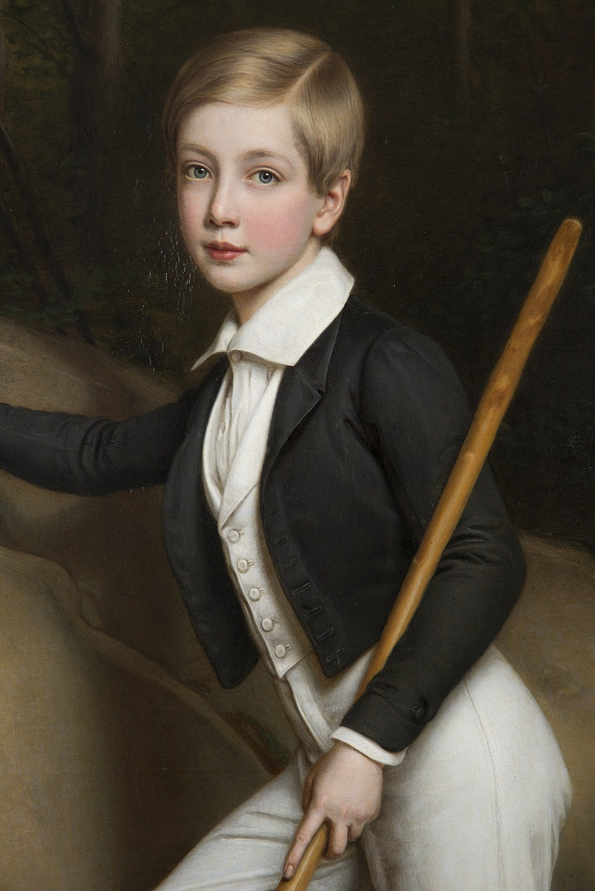 Joseph Stieler Erzherzog Ferdinand Max am Tegernsee 1838, gemalt 1841.jpg