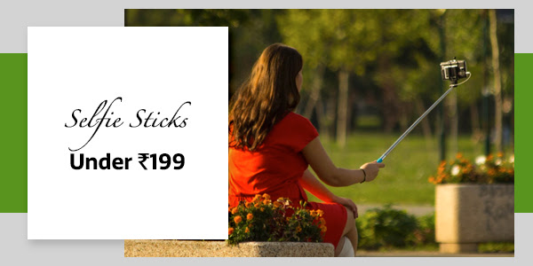 Selfie Sticks under Rs.199