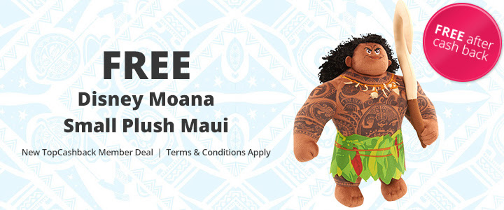 FREE Disney Moana Small Plush.