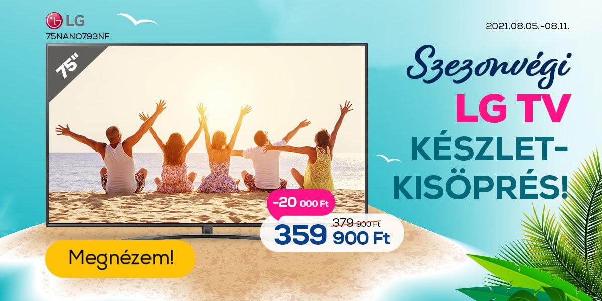LG TV ajánlatok