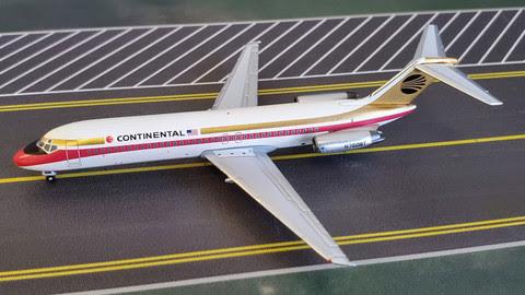 Douglas DC-9-32 Continental N3508T