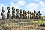 Moáis, estatuas de la Isla de Pascua