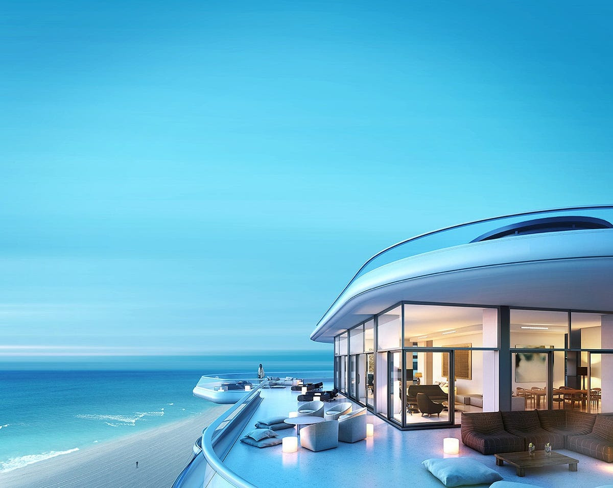 Here's where you could live in Miami ...