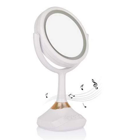Miroir Grossissant Enceinte Bluetooth