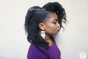 Igbocurls Twist out