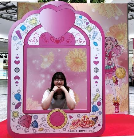 専門店街アルパ1F 噴水吹抜け広場 (C)ABC-A・東映アニメーション