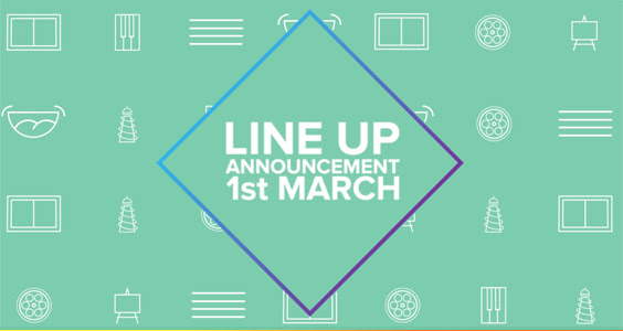 Line up announcement coming 1 March