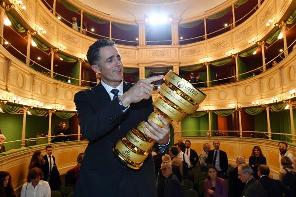 dbd6922e d13a 4434 9f46 bf9d7b12a0fa LA PREMIAZIONE A MIGUEL INDURAIN NELLA HALL OF FAME DEL GIRO D'ITALIA