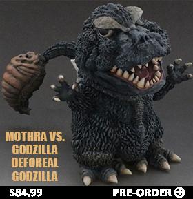 MOTHRA VS. GODZILLA DEFOREAL GODZILLA