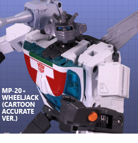 TRANSFORMERS MASTERPIECE MP-20+ WHEELJACK (CARTOON ACCURATE VER)